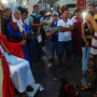 She took this picture at Festival of the Black Nazarene at Quiapo Church: The festival attracts m...