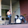 The band PDX Unconscious performed live entertainment outside the South Campus Center during the ...
