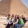 Cultural site-seeing activities included visits to the pyramids, the Egyptian Museum, the Bazaar ...