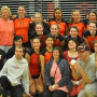 The Pioneers hosted Special Olympics athletes at a volleyball match in the fall.