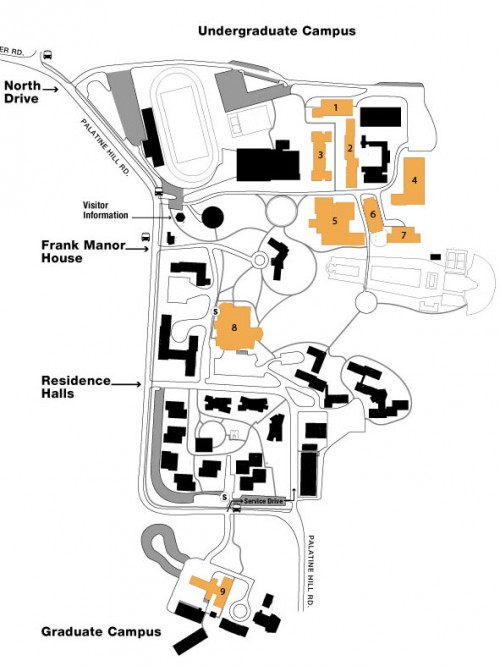 lab locations - information technology
