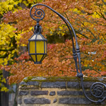 lamp near manor house drive entrance