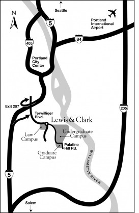 Routes to campus