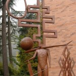 John Buck sculpture