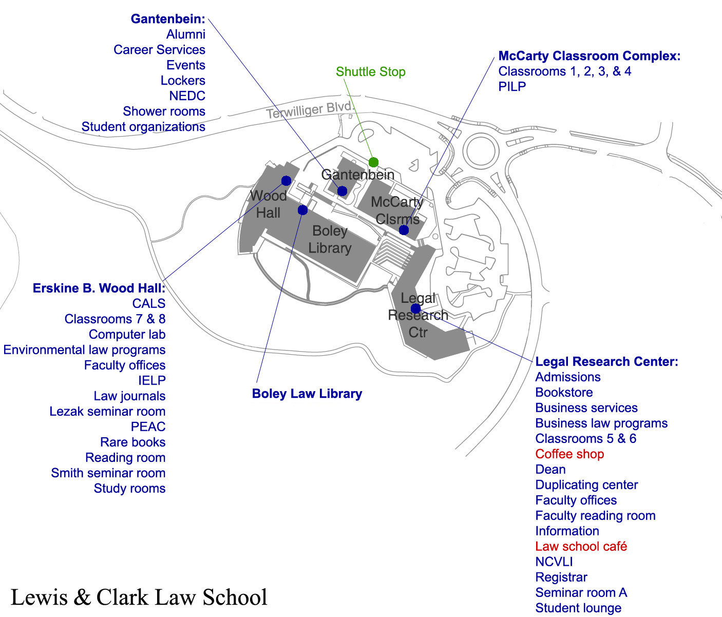 Law Campus - Visiting Campus - Lewis & Clark