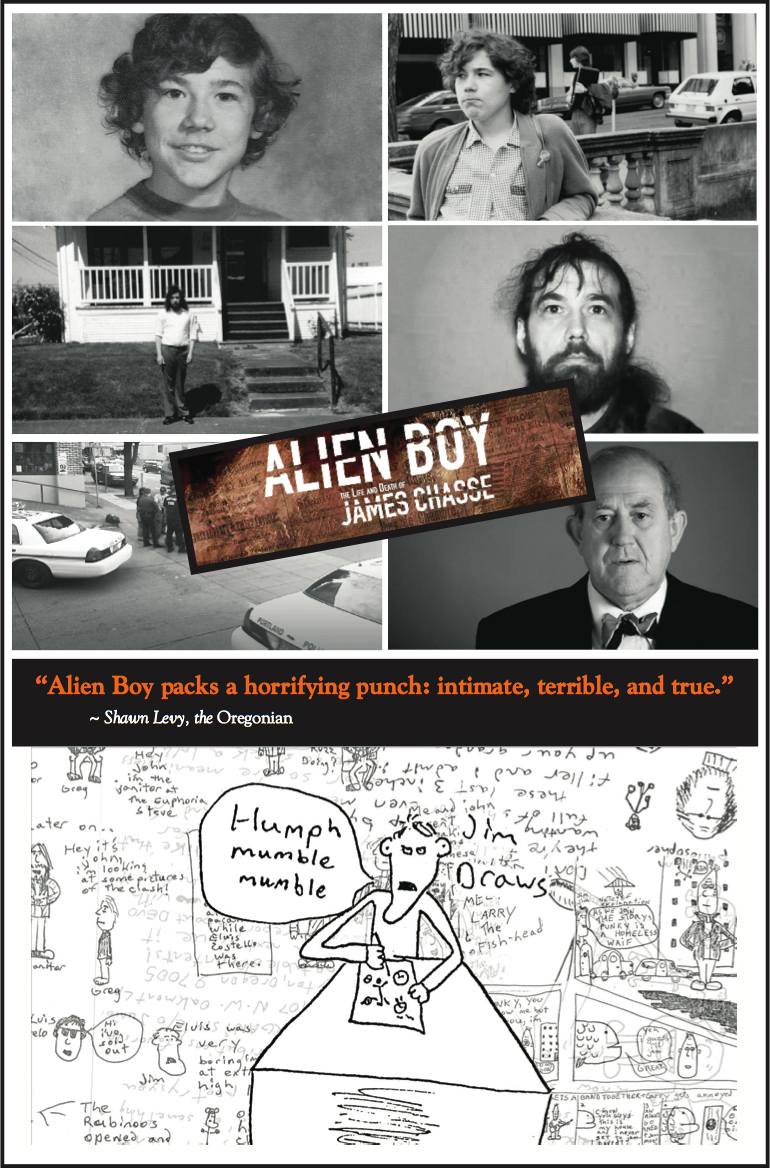 Images from Alien Boy's press release package.
